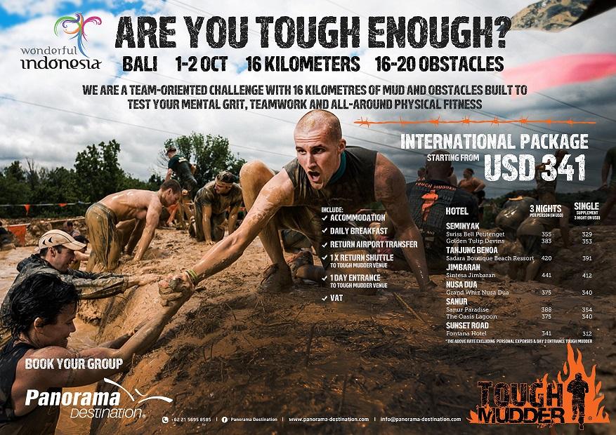 Tough mudder 2018 course map